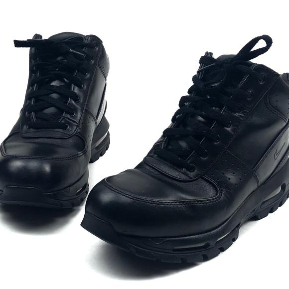 hot sale online 62381 ec668 NIKE Air Max Goadome 2013 Men s 9.5 Boots Black. M 5c365793aa8770d7b91dfb00